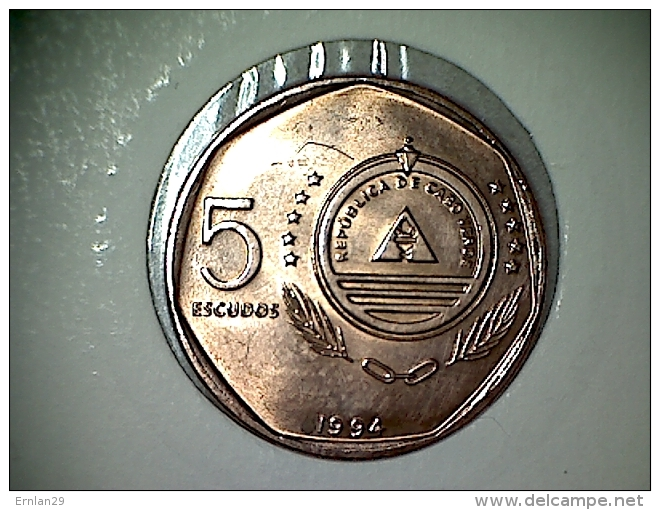 Cap Vert  5 Escudos 1994 - Cap Vert