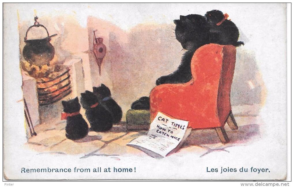 CHATS - Les Joies Du Foyer - 2472 - Chats