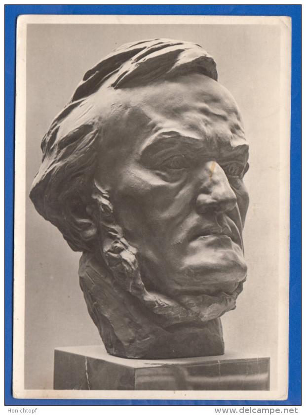 Kunst; Breker Arno; Richard Wagner - Sculptures