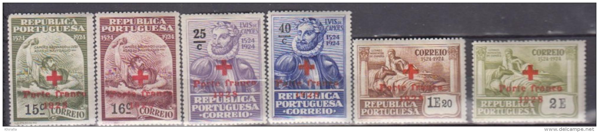PORTUGAL    1928     Franchise     N.   32 / 37   COTE    7 . 50  EUROS          ( M 191 ) - Franchise