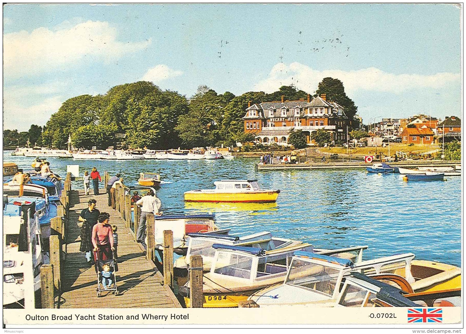 CPM Royaume Uni - Oulton Broad Yatch Station And Wherry Hotel - Angleterre