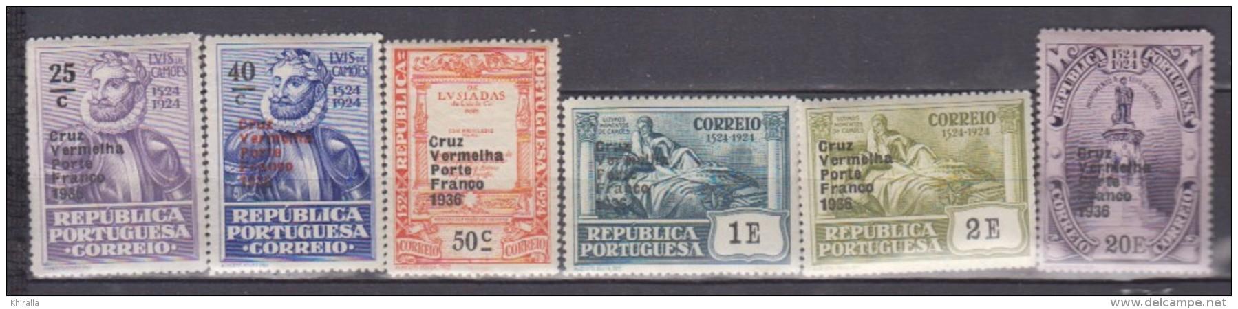 PORTUGAL    1935     Franchise     N.   85 / 90   COTE    7 . 50  EUROS          ( M 197 ) - Franchise