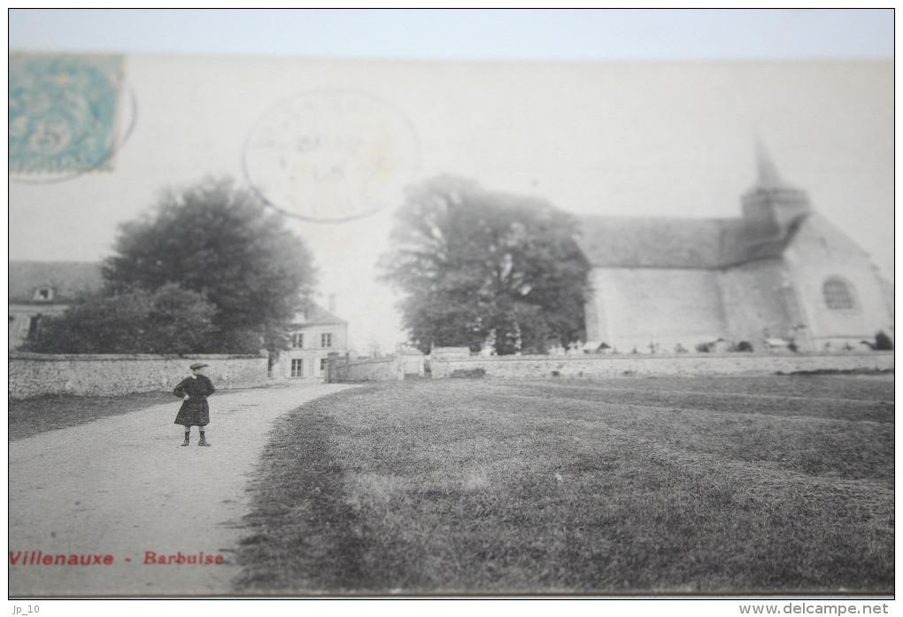 CPA Département Aube 10 BARBUISSE Près Villenauxe L´Eglise  Vue Générale - France