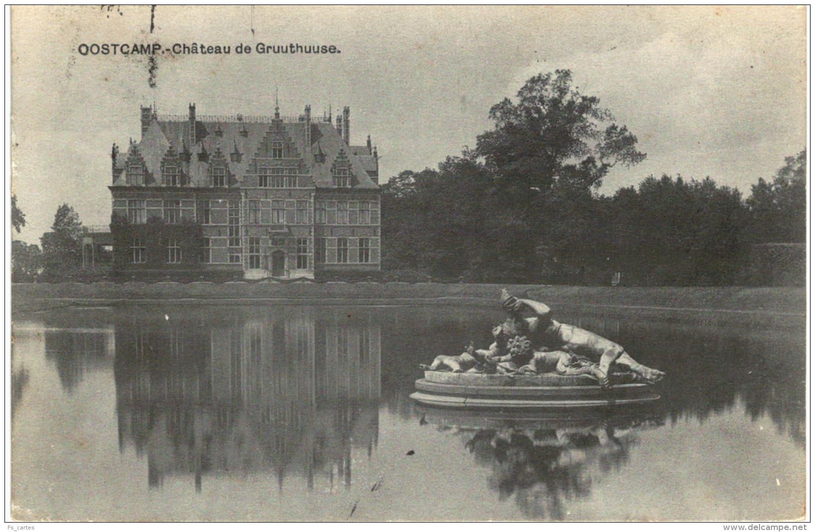 Oostcamp  Château De Gruuthuuse écrite Vers Anvers - Oostkamp