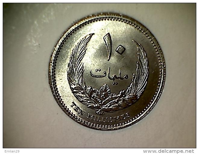 Libye 10 Millièmes 1965 TTB - Libye