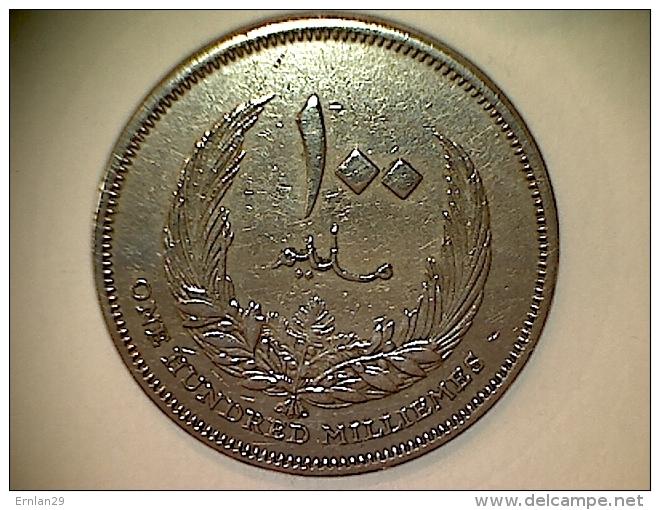 Libye 100 Millièmes 1965 - Libye