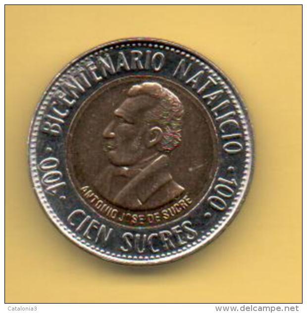 ECUADOR - 100 Sucres 1995 SC  KM96 - Ecuador
