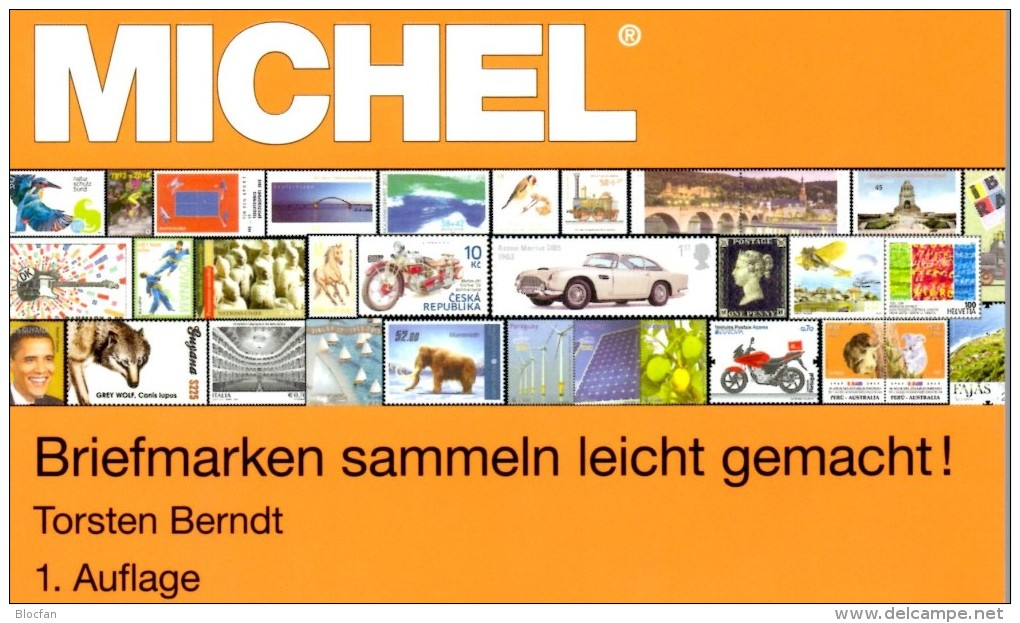 Briefmarken Sammeln Leicht Gemacht MlCHEL-Ratgeber 2014 New 15€ Motivation SAMMLER-ABC Für Junge Sammler Oder Alte Hasen - Documentos Antiguos