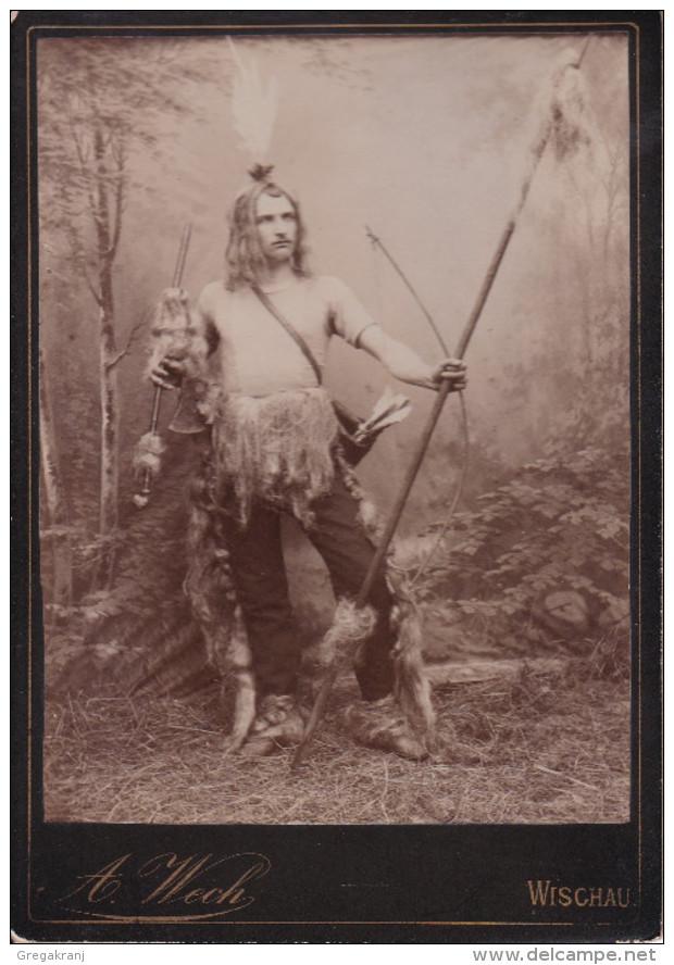 Indian Costume Man Wischau Vyskov Viskov A. Wech - Photographs