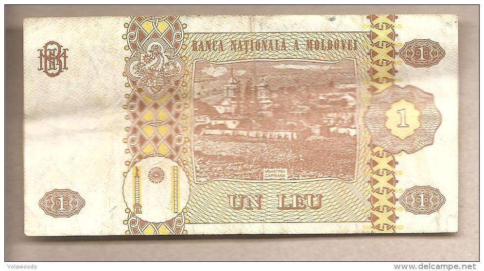 Moldavia - Banconota Circolata Da 1 Leu P-8a - 1994 - Moldova