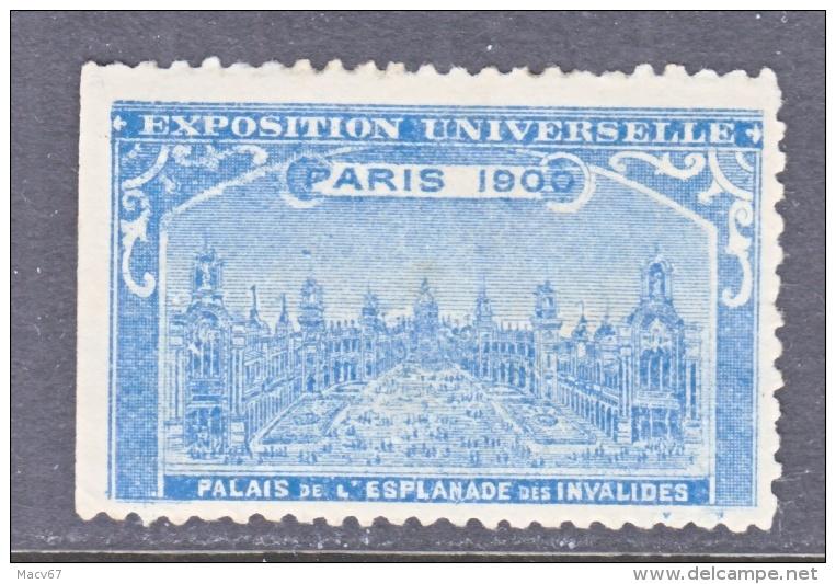 VIGNETTE   PARIS EXPO 1900   PLAZA    * - 1900 – Paris (France)