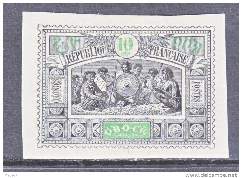 OBOCK  50   * - Unused Stamps