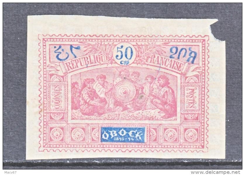 OBOCK  56    * - Unused Stamps