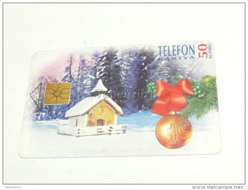 Weinacht Christmas Xmas 1995 Phonecard Hungary - Phonecards
