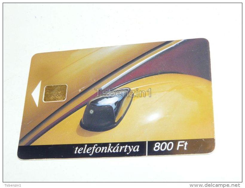 VW Beetle Car Auto 2000 Phonecard Hungary - Cars