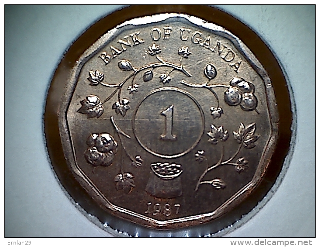 Uganda 1 Shilling 1987 - Ouganda