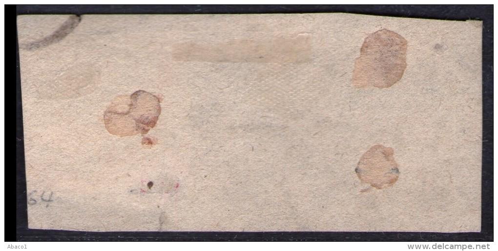 1 1/2 Shilling Gelb - Bergdorf Nr. 3 Auf Briefstück - Geprüft BPP - Kabinett - Bergedorf