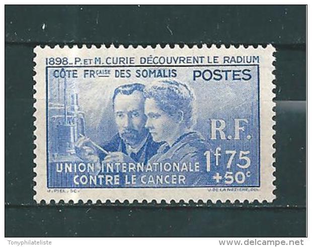 Timbres Des Cote De Somalis  De 1938 N°147  Neuf *tres Petite Trace De Charnière Belle Gomme - French Somali Coast (1894-1967)