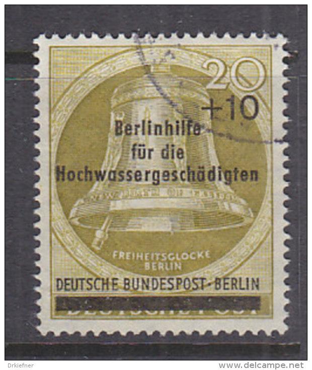 BERLIN 155, Gestempelt, Berlinhilfe Für Hochwassergeschädigte 1956 - Gebraucht