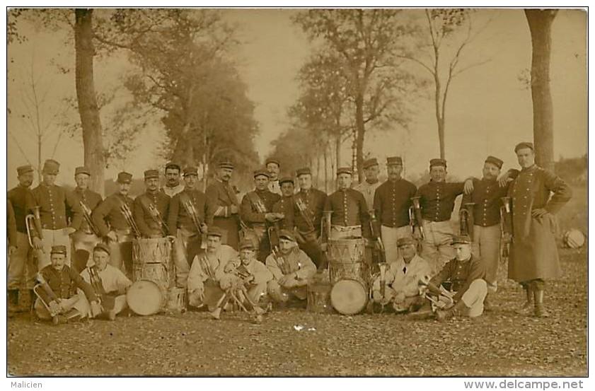 -ref-L308- Militaria - Fanfare - Fanfares - Musique Militaire - Clairons - Tambours - Regiment - Regiments - Militaires - Autres