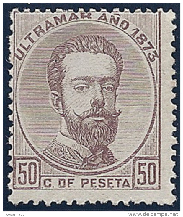 ESPAÑA/ANTILLAS 1873 - Edifil #26 - MNH ** - Kuba (1874-1898)