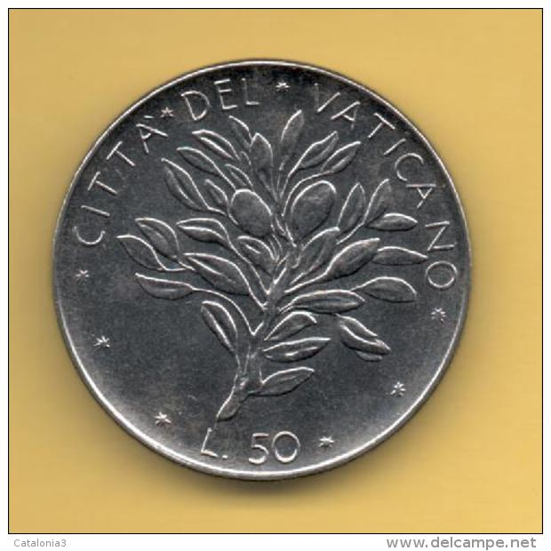 VATICANO - 50 Liras 1974 SC  KM121 - Vaticano (Ciudad Del)