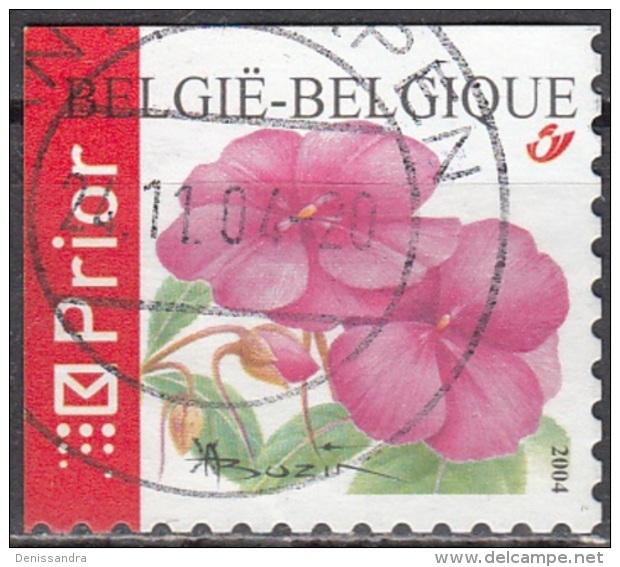 Belgique 2004 COB 3318B O Cote (2016) 2.60 Euro Impatiens Cachet Rond - Belgien