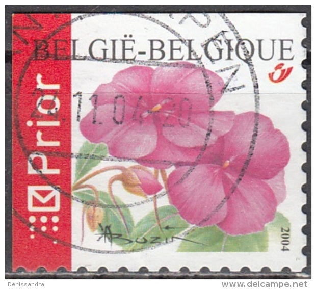Belgique 2004 COB 3318B O Cote (2016) 2.60 Euro Impatiens Cachet Rond - Gebraucht