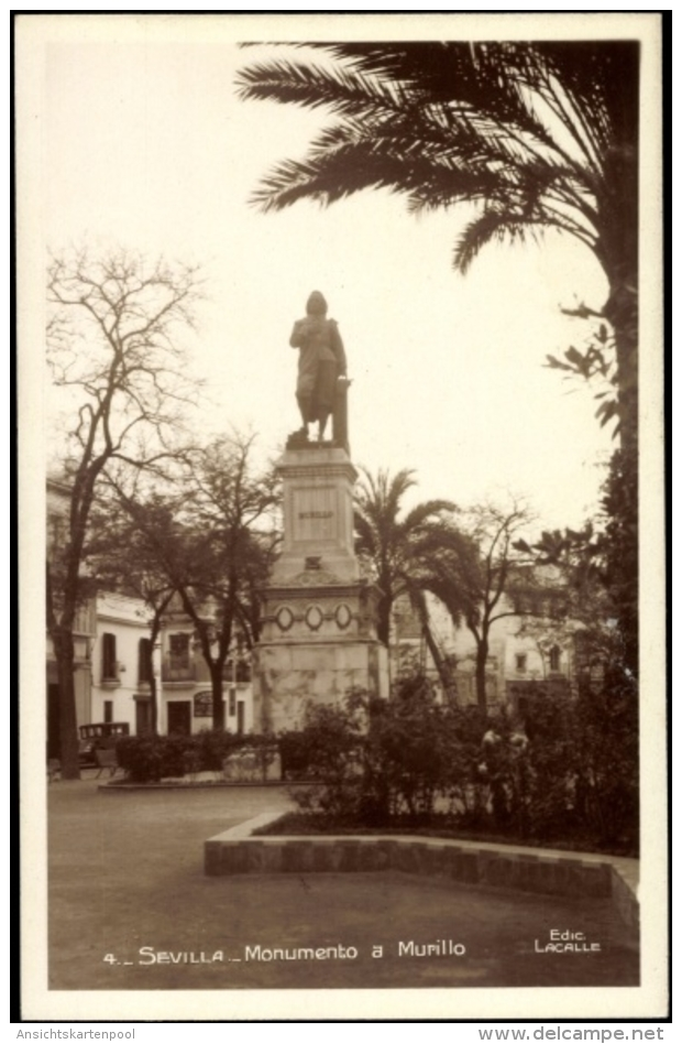 Cp Sevill Andalucía, Monumento A Murillo - Espagne