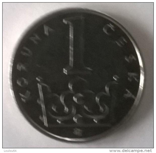 Monnaie - Tchéquie - 1 Kc 2001 - Superbe - - Tchéquie