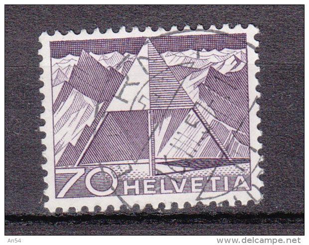 1949  N°308    OBLITERATION CENTRALE   CATALOGUE ZUMSTEIN - Suisse