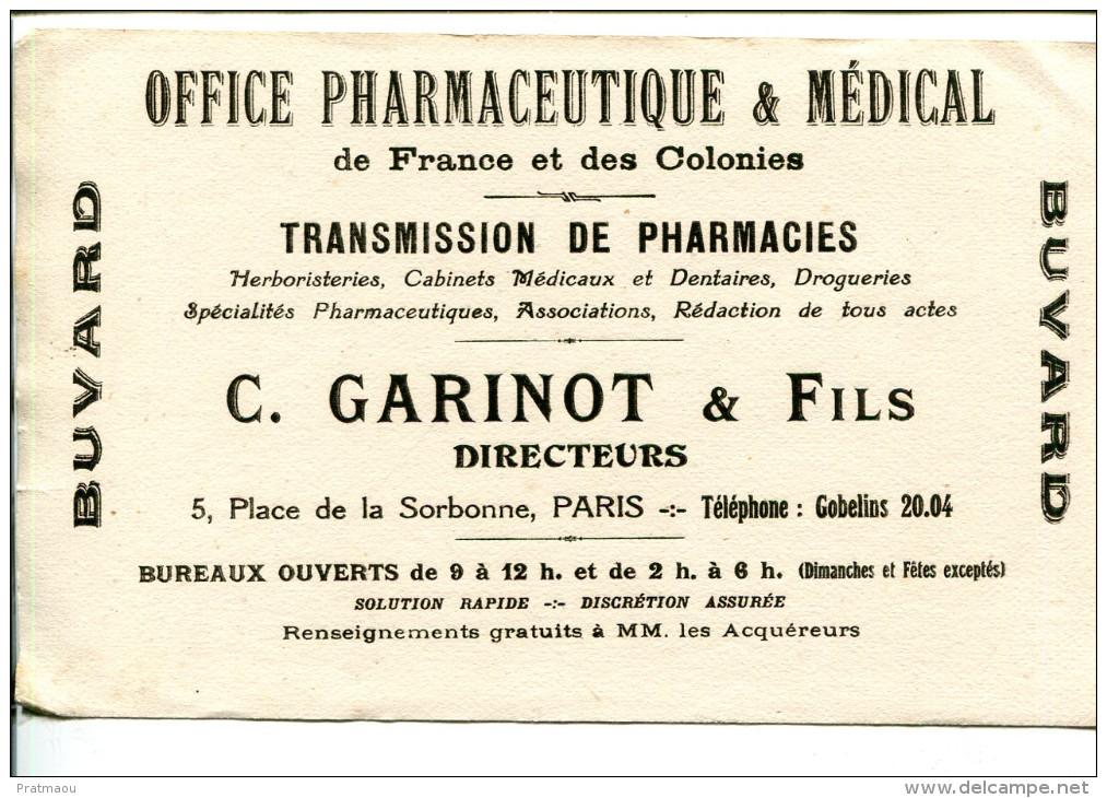 BDV3 Buvard Paris, Office Pharmaceutique Et Médical, Transmission De Pharmacie, 5 Place De La Sorbonne - Produits Pharmaceutiques