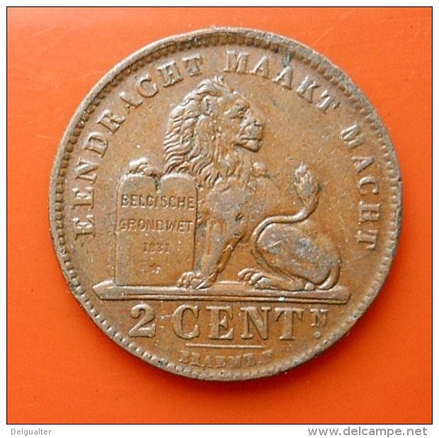 Belgium 2 Centimes 1919 - 02. 2 Centimes