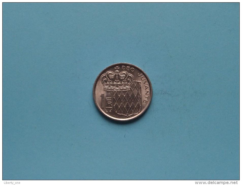 1975 - 1 Franc / KM 140 ( Uncleaned Coin / For Grade, Please See Photo / Scans ) !! - 1960-2001 Nouveaux Francs