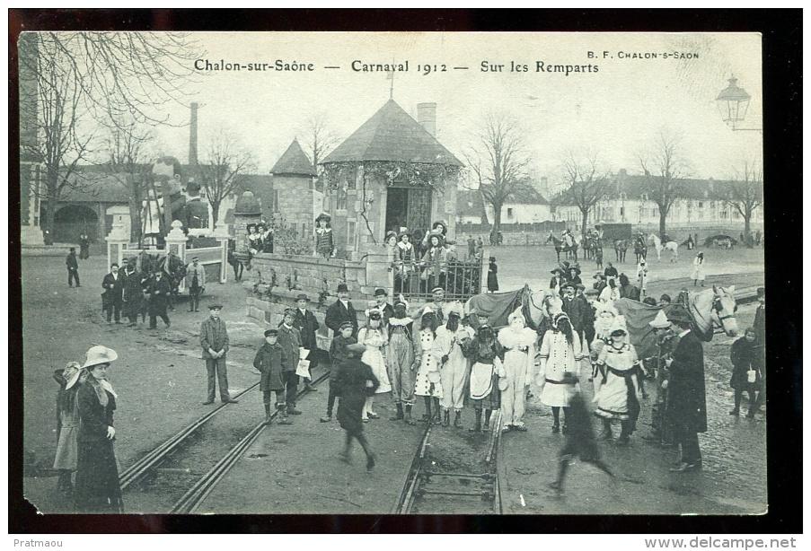 2016 05 23 Chalon Sur Saone Carnaval 1912, Sur Les Remparts - Chalon Sur Saone