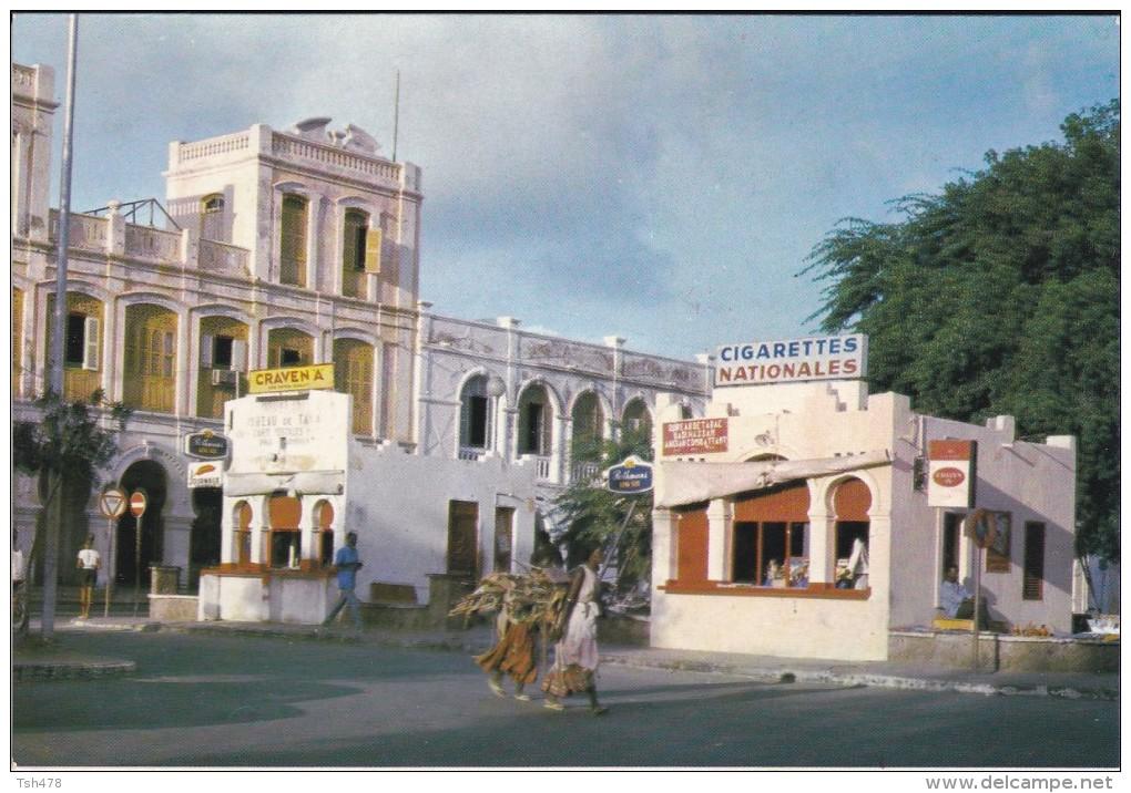 AFRIQUE---DJIBOUTI---place Menelik--voir 2 Scans - Djibouti