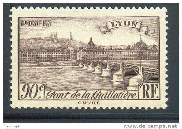 N° 450 Neuf** (Pont De La Guillotière)  COTE= 1,25 Euros !!! - Nuovi