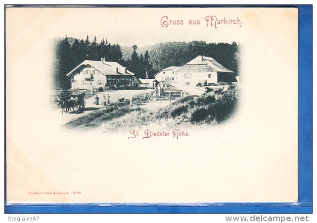 GRUSS AUS MARKIRCH ST DIEDELER HOHE - Autres Communes