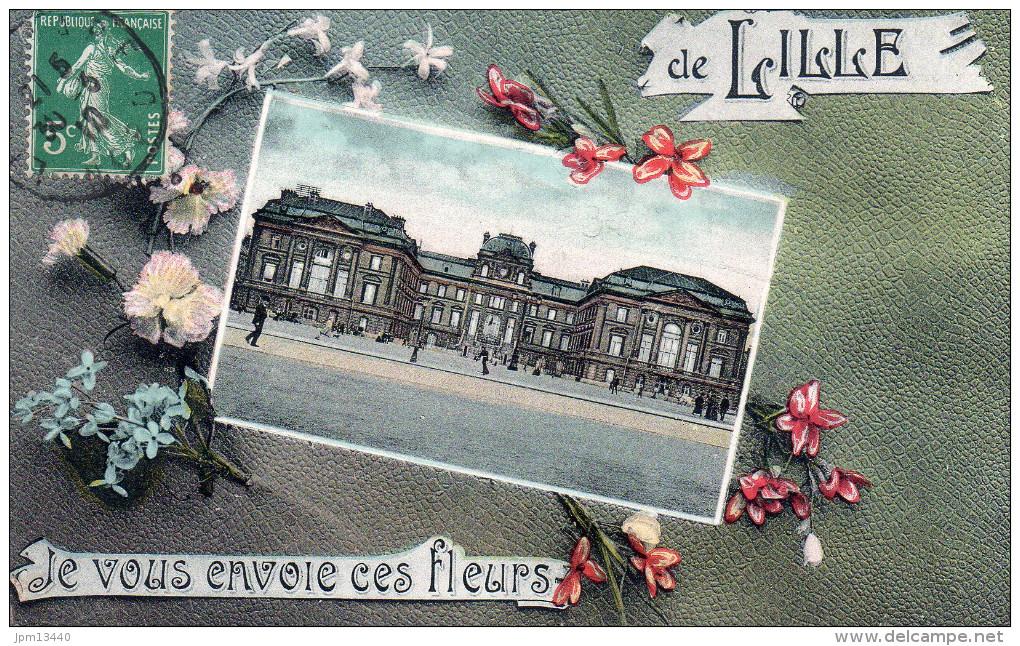 LILLE JE VOUS ENVOIE CES FLEURS DE LILLE - Lille
