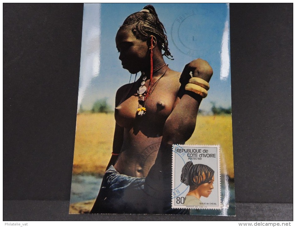 COTE D´IVOIRE - FDC Belle Africaine - Dec 1981 - A Voir - P18592 - Côte D'Ivoire (1960-...)
