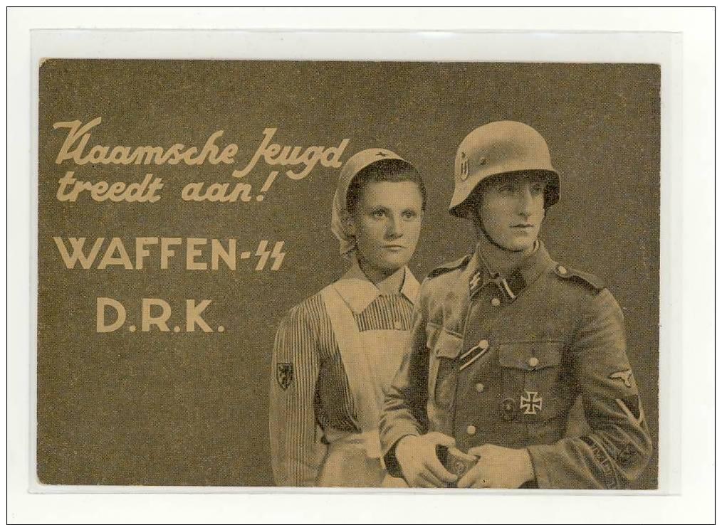 Wakken SS DRK Vlaamsche Jeugd Treedt Aan - Guerre 1939-45