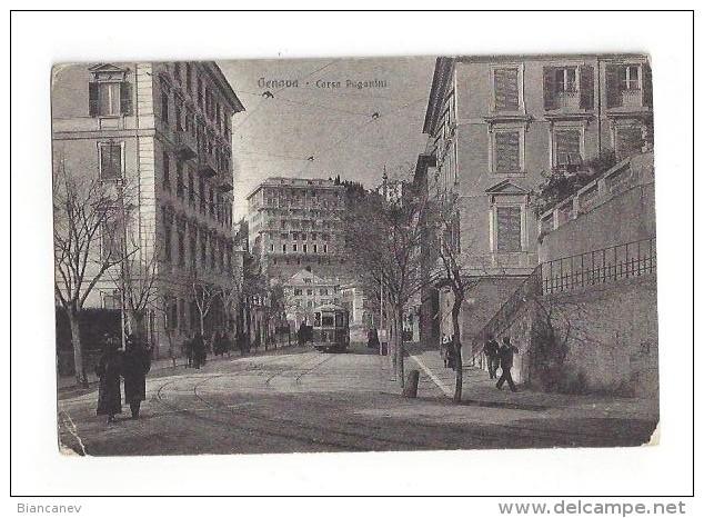 CARTOLINA DI GENOVA - 3 - Genova