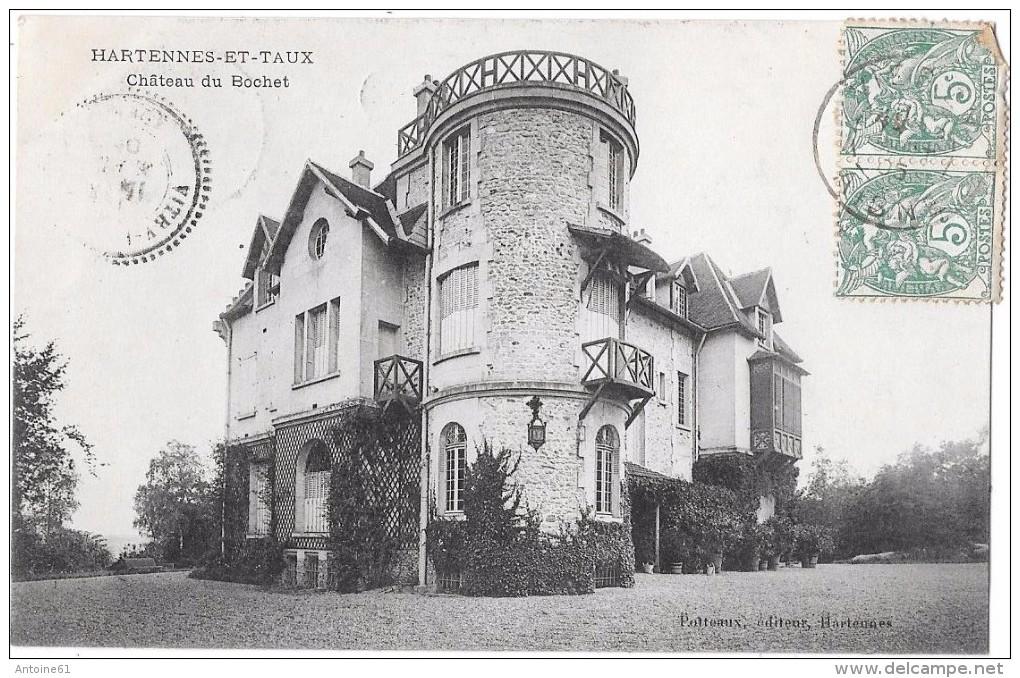 HARTENNES ET TAUX - Château Du Bochet - Francia