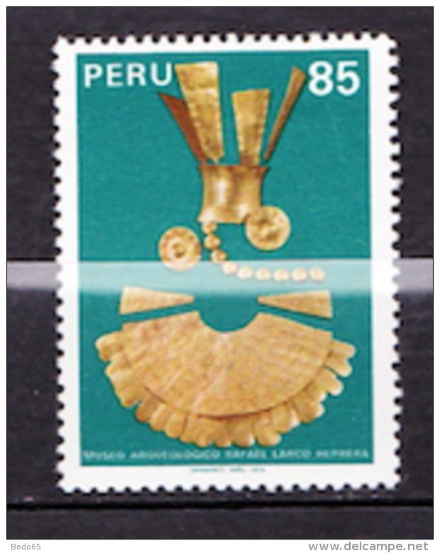 PER0U  N° 671  NEUF** LUXE  SANS CHARNIERE / MNH - Peru