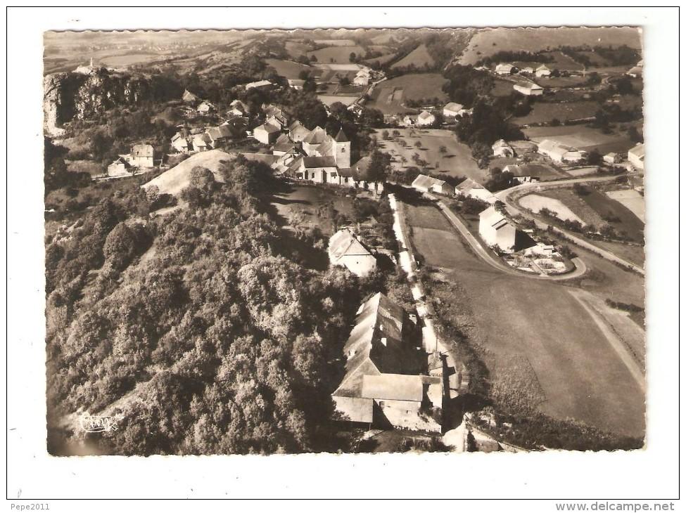 CPA  39 SAINT LAURENT LA ROCHE Vue Générale Aérienne Maisons église Champs Peu Commune 1960 - Francia