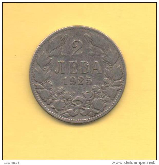 OFERTA - BULGARIA - 2 Leva 1925 KM38 - Bulgaria