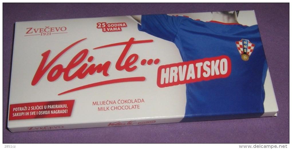 Chocolate Box - I Love You Croatia (Volim Te Hrvatsko), Zvečevo, 2016., Croatia (Soccer, HNS) - Cioccolato