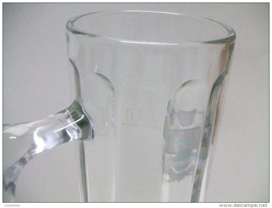 Grande CHOPE Bière 0,5 L En Verre RINGNES RASTAL - Glasses