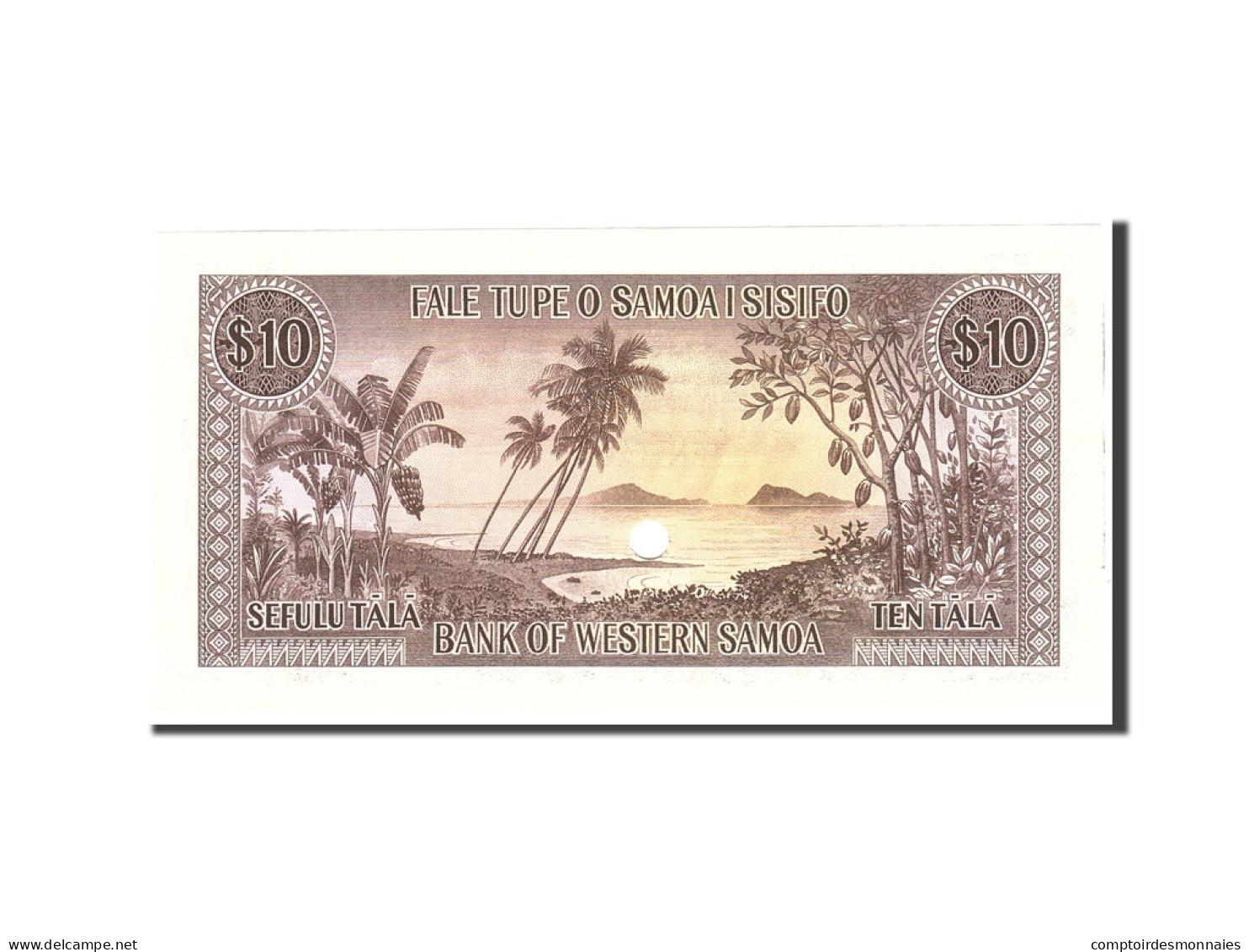 Samoa Occidentales, 10 Tala, 1967, Undated, KM:18s, NEUF - Samoa