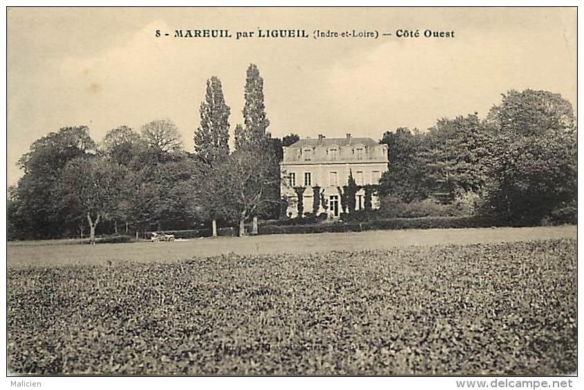 - Indre Et Loire - Ref A696 - Mareuil Par Ligueil - Chateau - Chateaux  - - France